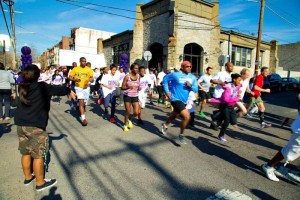 start of the point breeze 5k